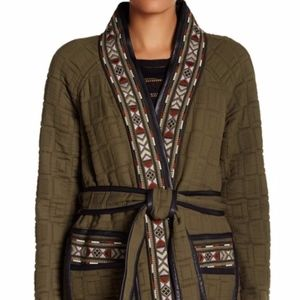 NWT Rebecca Taylor  Pickstitch Embroidered Jacket